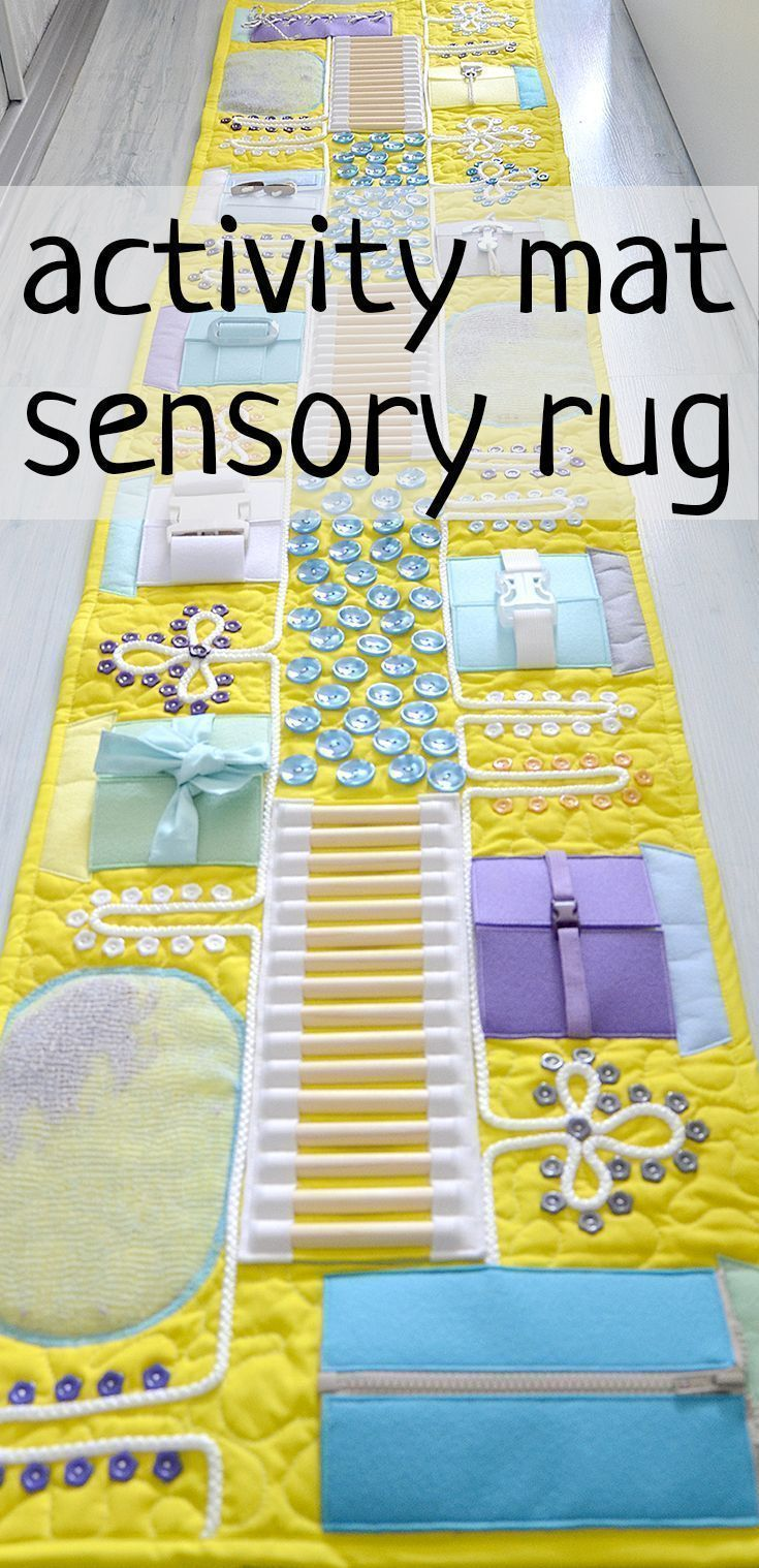 Massage mat for children Sensory activity Table occupied The two-meter massage m...
