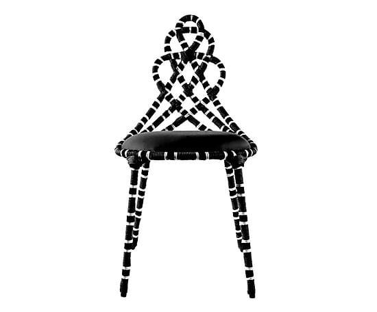 Cadeira Cobra Coral - Preta