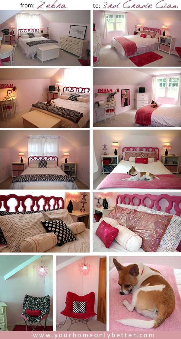 Rearrange And Accessorize To Freshen A Girls Pink Room All About Interesting Rearranging Bedroom