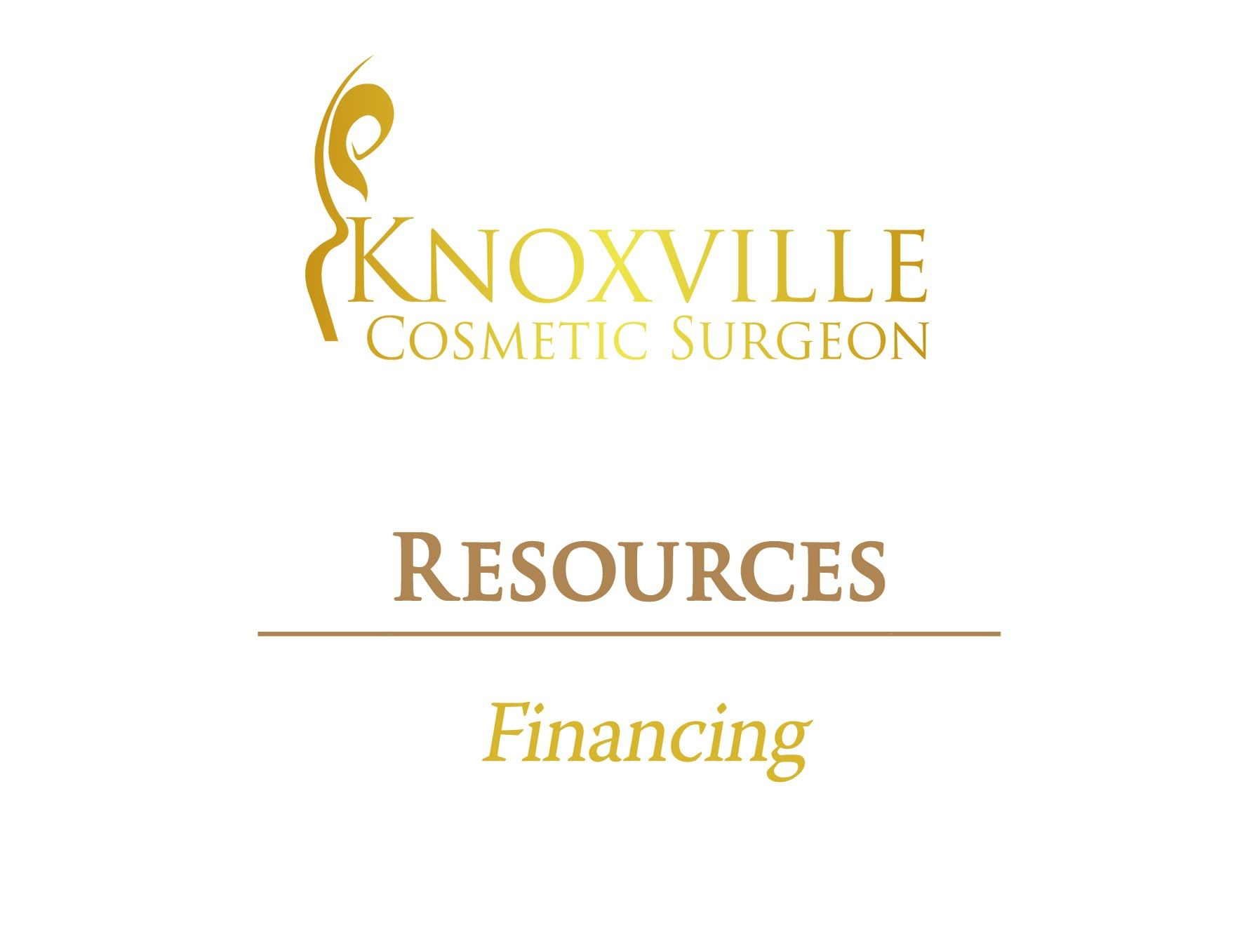 Knoxville cosmetic surgeon resources financing