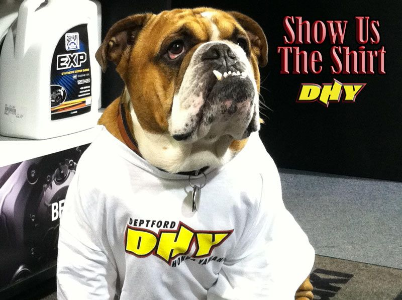 rookie is entered to win in dhy's 'show us the shirt!' contest