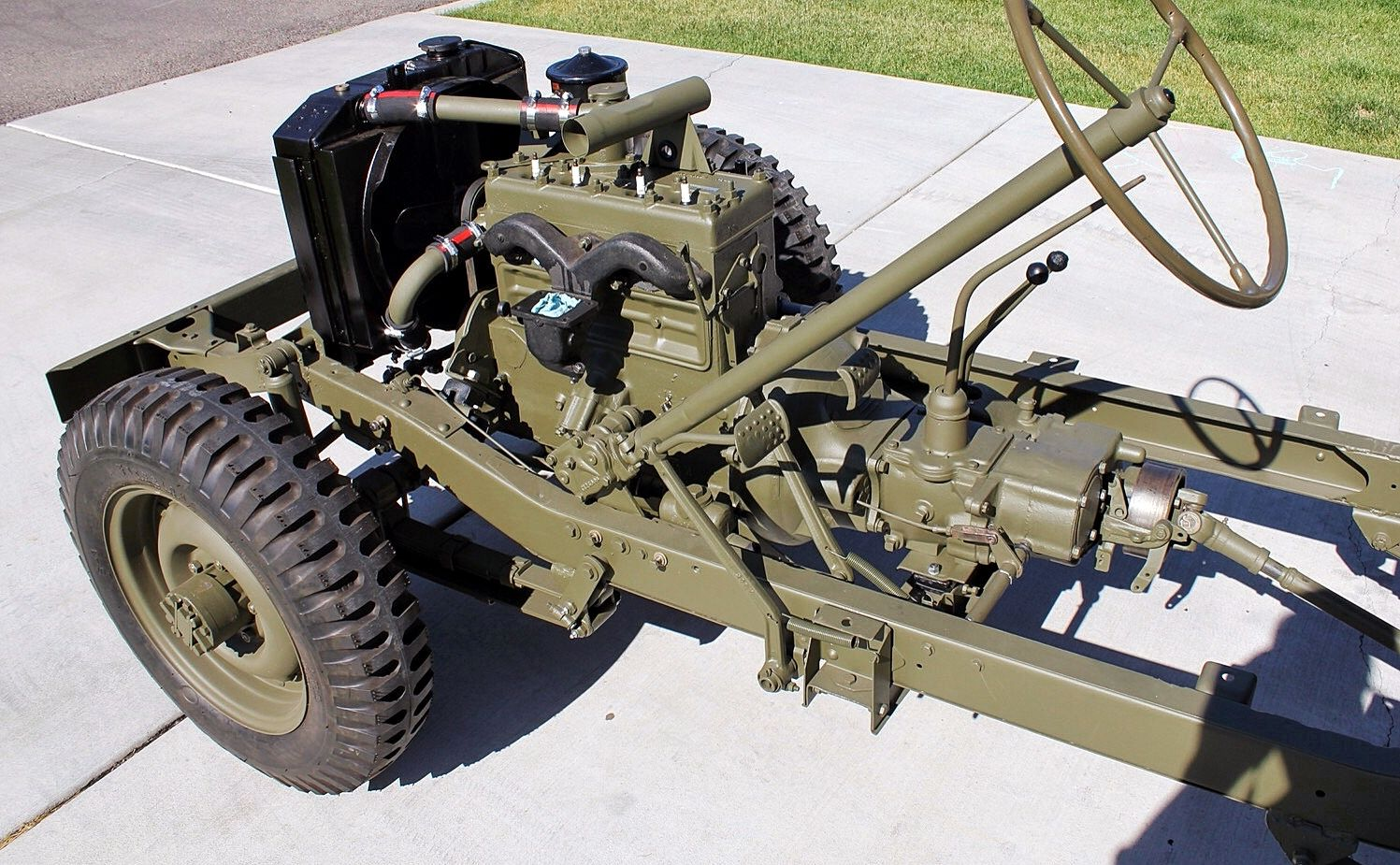 Willys Jeep Chassis Willys Jeep Military Jeep Jeep Cj