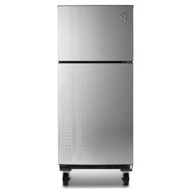 Gladiator 19 Cu Ft Top Freezer Refrigerator Silver Tread Energy Star With Images Garage Refrigerator Refrigerator Top Freezer Refrigerator