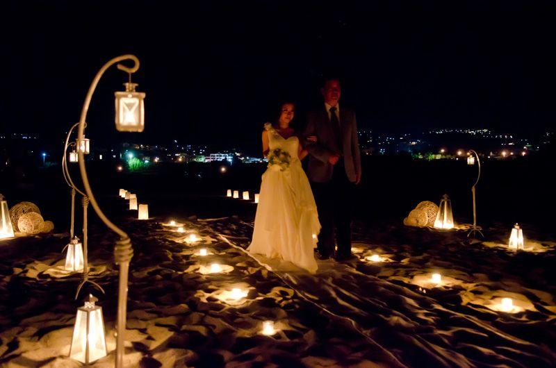 Candle Beach Wedding Decoration Candlelight Lantern Outdoor
