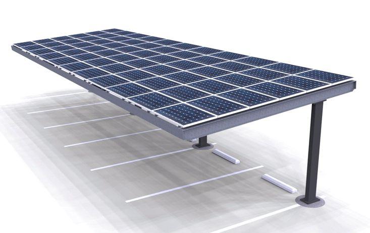 Solar Single Column Single Carport Structures Corp Solar Carport Designs Carport