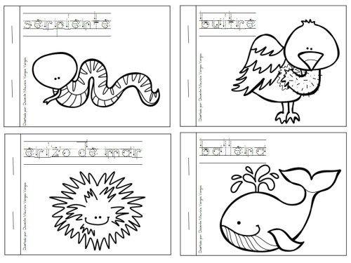 Mi libro de colorear de animales salvajes (4) | DIBUJOS | Pinterest ...