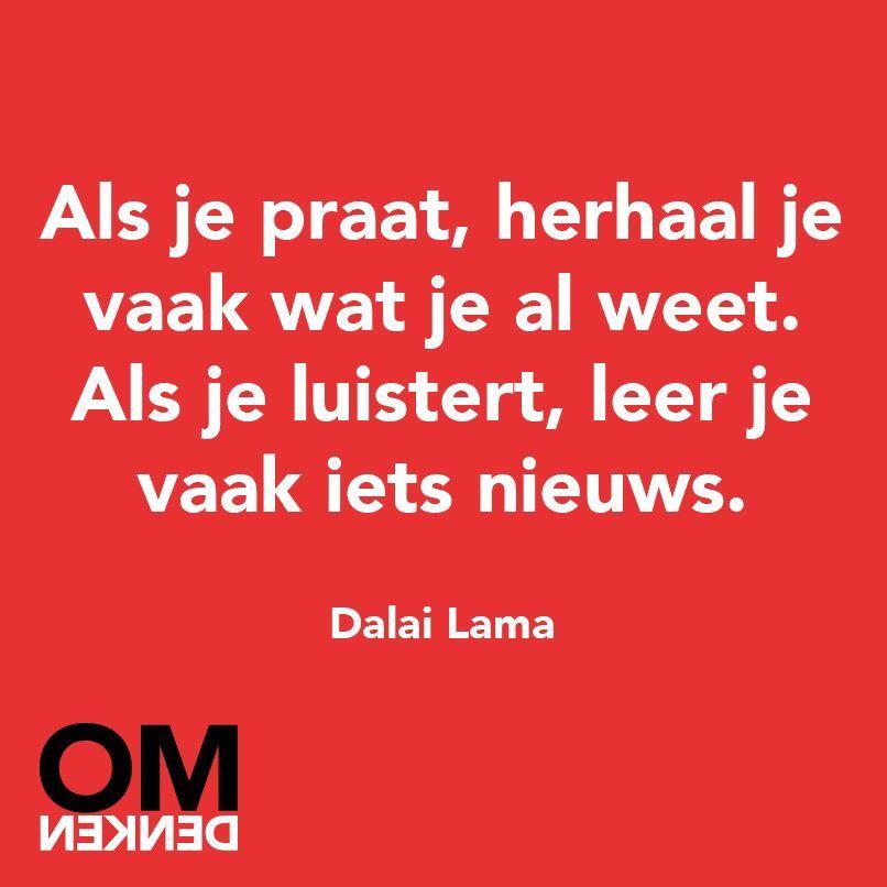 Citaten Dalai Lama : Luisteren omdenken pinterest spreuken teksten en