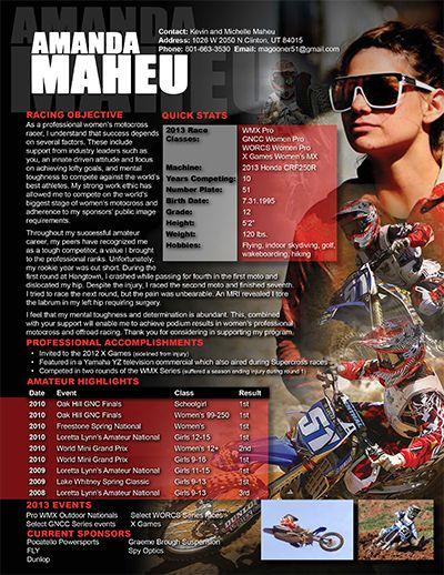 Motocross Resume Sample Resume Number Plate Motocross