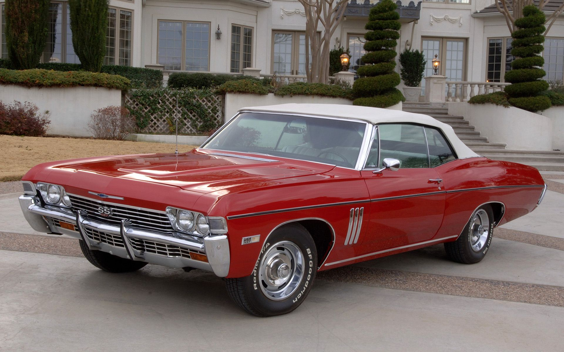 1968 chevrolet impala s s 427 convertible classic muscle