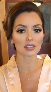 El maquillaje definitivo para cada ocasión – ojos marrones – # Ocasión #Brown #das #E …