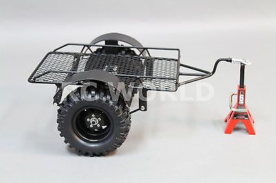Details About Rc 1 10 Scale Accessories All Metal Singl Axle Trailer