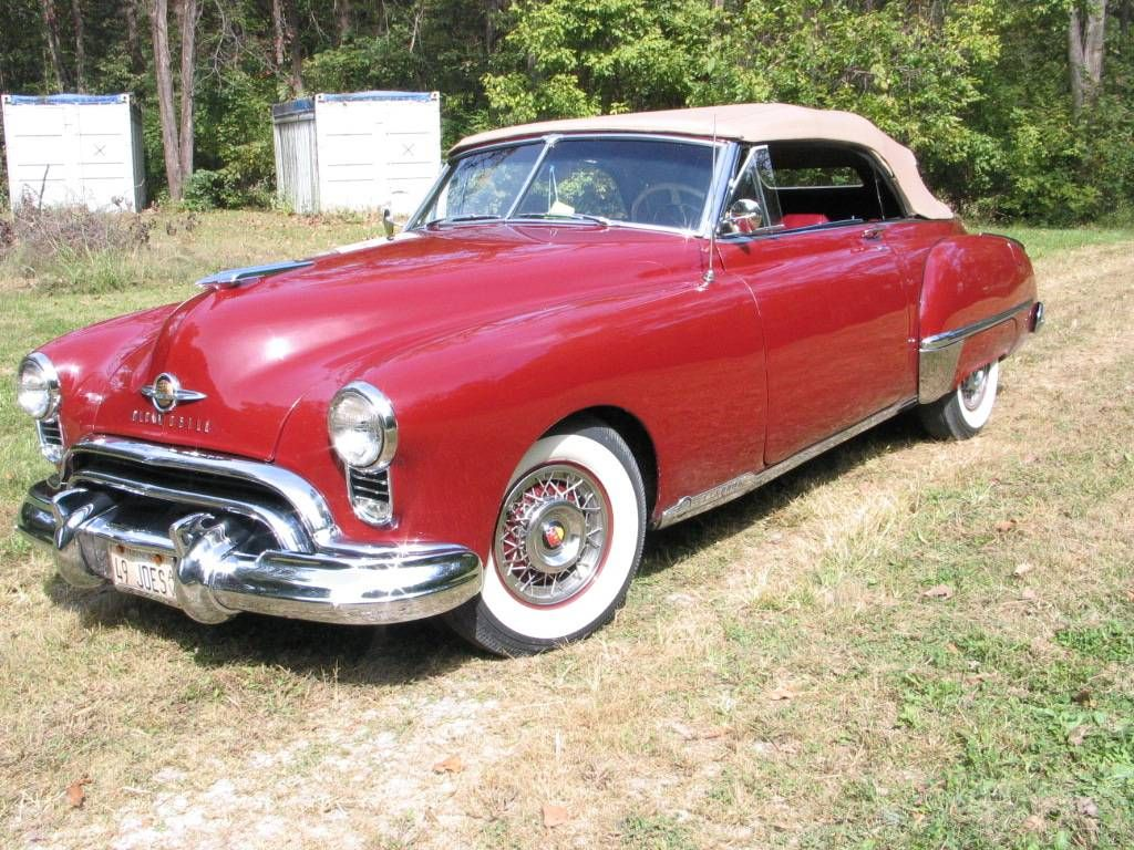 1949 Oldsmobile 98 Holiday 98 Convertible | Antique Cars ...