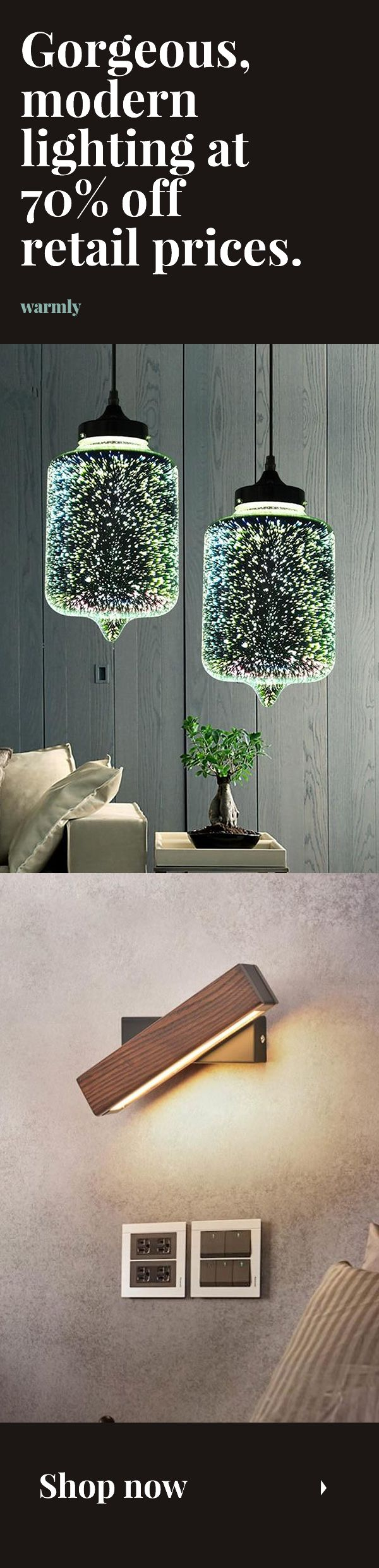 Photo of Best-selling modern lights at 70% off retail (or more).