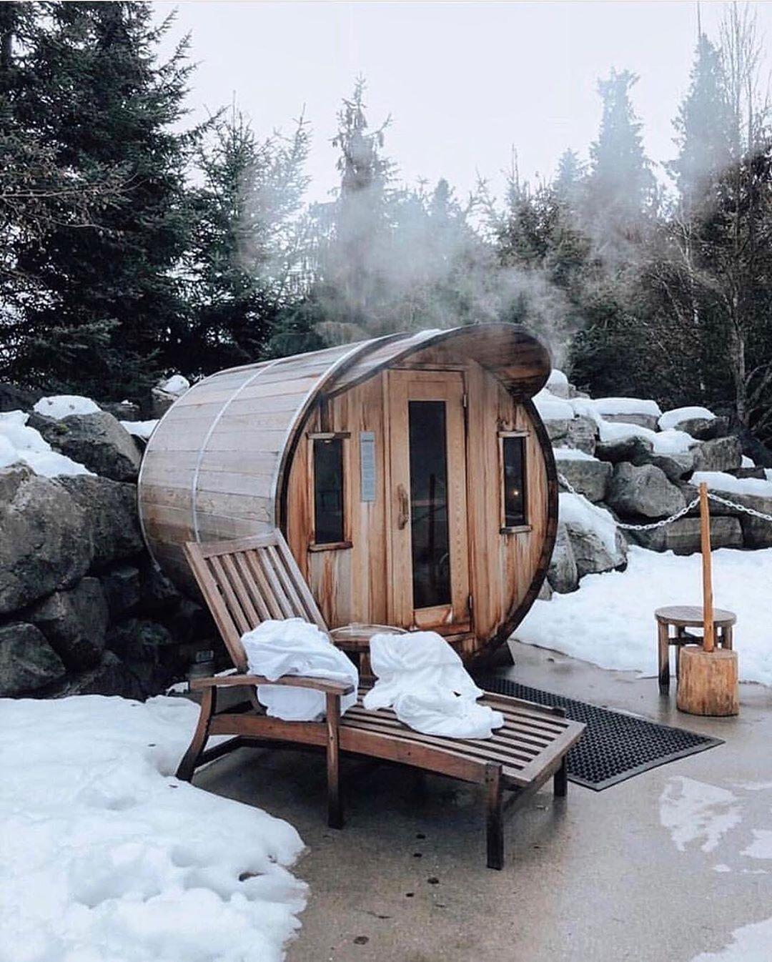 Rejuvenate at Whistler Scandinave Spa in 2020 Chalet