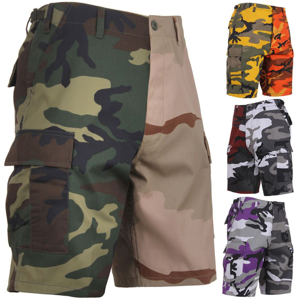 Men/'s Military Style Rothco Rip-Stop BDU Tactical Cargo Shorts