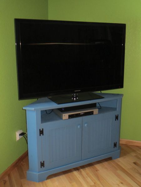 Custom Large Shallow Corner Tv Stand Custom Designed Pieces