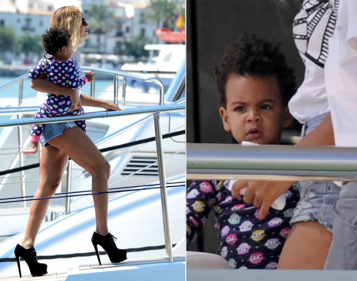 New York Daily News Beyonce Blue Celebrity Kids Beyonce