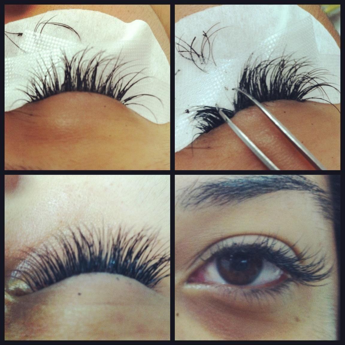eyelash extensions types