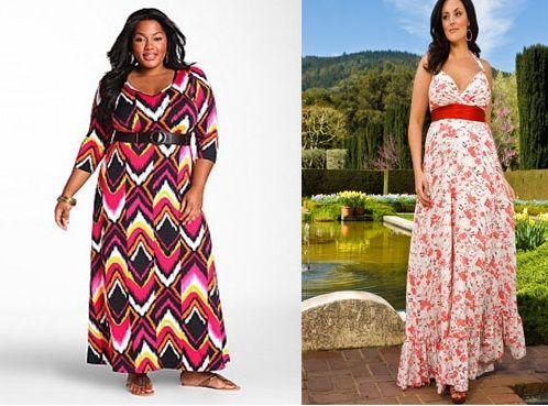 Maxi-Dress-Pattern-Plus-Size.jpg (498×369) | DIY.Sew | Pinterest ...