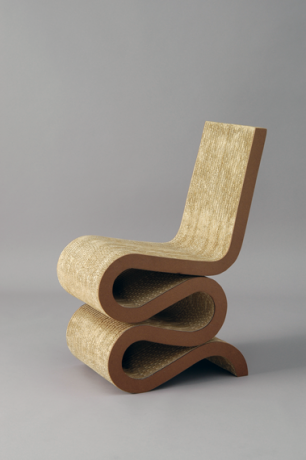 Gehry Frank Wiggle Cartoninhabituel Side Chair1972 xtdhQsrC
