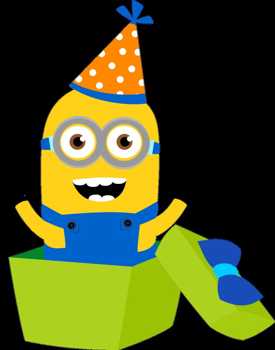 Minion Party Clip Art