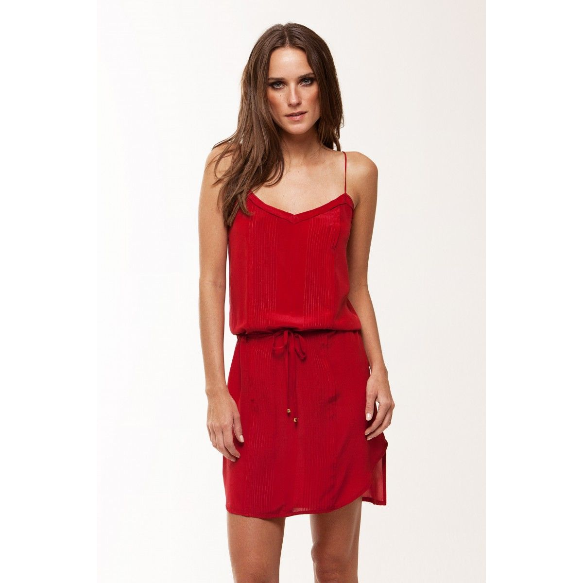 Vix Solid Dani Short Dress Red. 2013 Collection. Little Red Simple Dresses