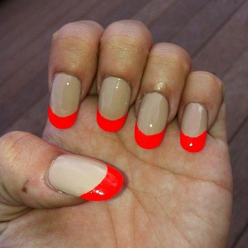 nails | Tumblr | Nail Designs | Pinterest | French nails