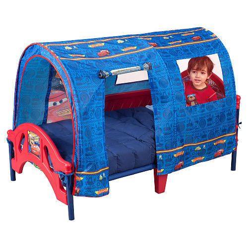 Disney Cars Toddler Bed Tent Canopy Set Play Toy Indoor For Baby Crib Mattress #Disney  sc 1 st  Pinterest : toddler bed tent canopy - memphite.com