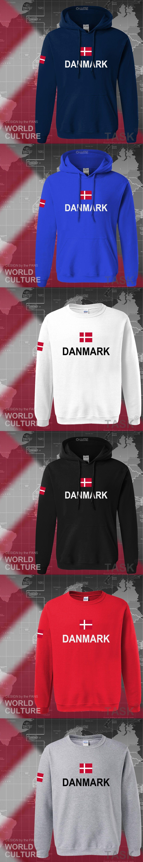 Denmark Hoodies Men Sweatshirt Polo Sweat New Hip Hop Streetwear Polos Hodie Footballes Jerseyes Tracksuit Nation Danish Flag