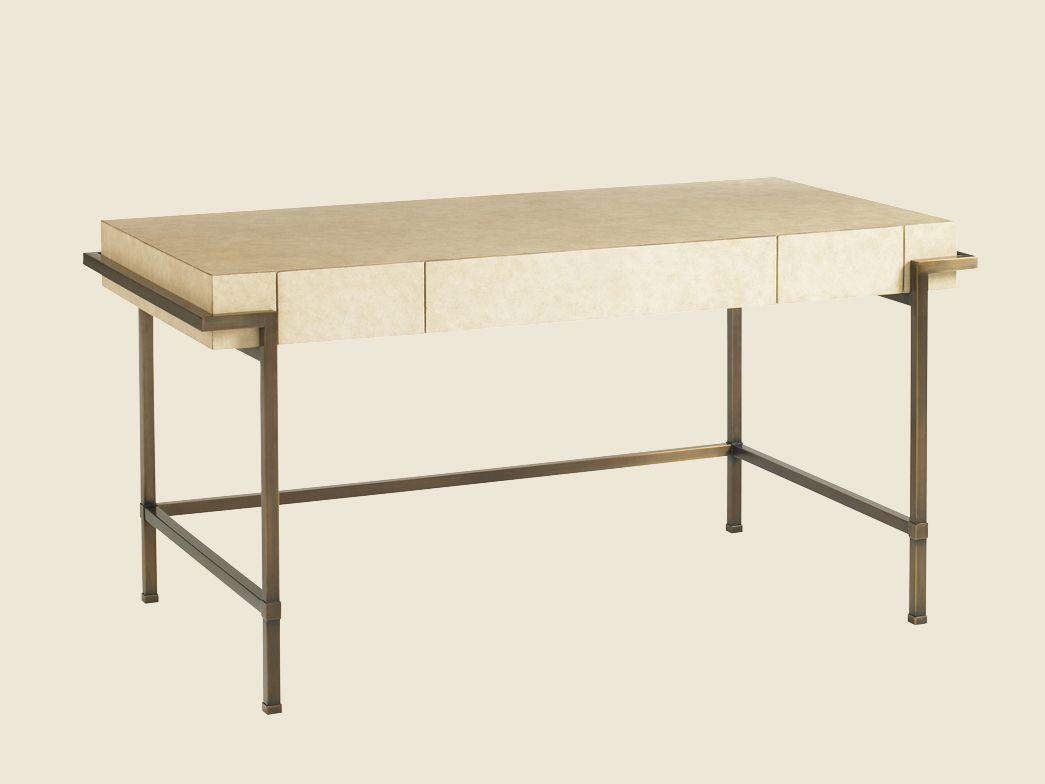 Studio Designs Parchment Writing Desk - Lexington Home Brands