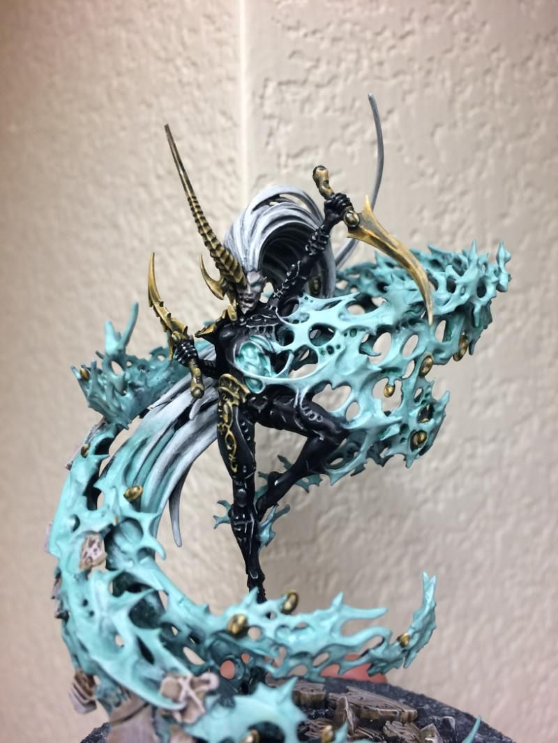 Avatar of Ynnead New Warhammer 40k Eldar The Yncarne