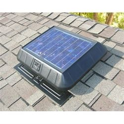 Sunrise 1050 Solar Power Ventilator Solar Powered Attic Fan Solar Attic Fan Attic Fans