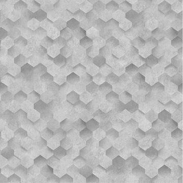 Dutch Wallcoverings Behang.3d Behang Lichtgrijs Dutch Wallcoverings Idea Of Art 42512 30 3d