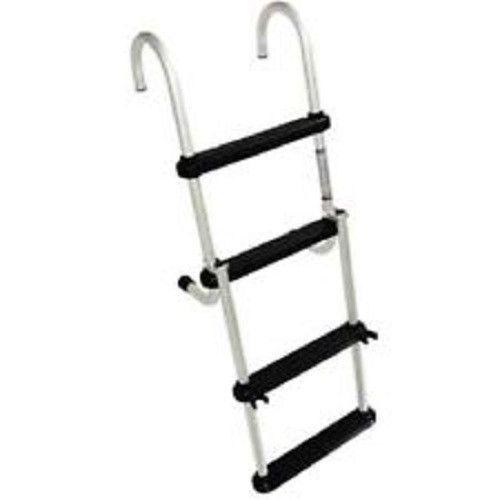 Windline Removable 4 Step Folding Pontoon Ladder Ladder Pontoon Aluminium Ladder