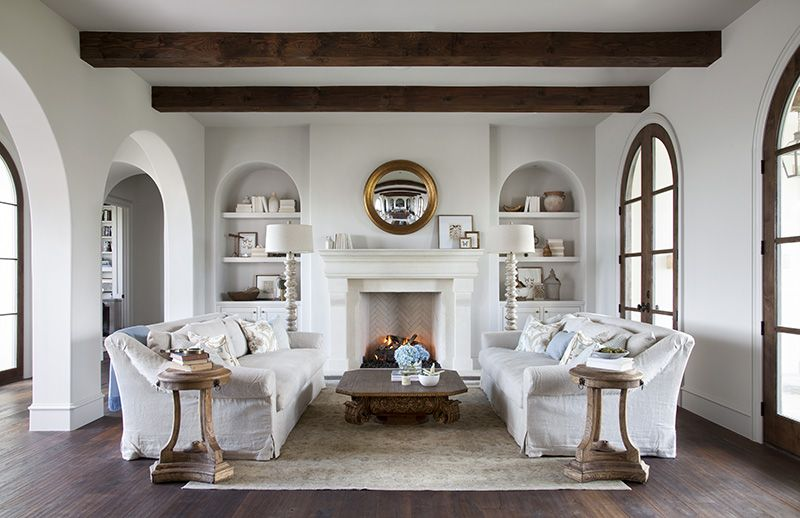 Modern Rustic Comfort Meets Spanish Colonial Tradition In The