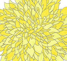 It's yellow. by Jeanharlow35