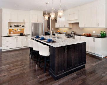Bell Kitchen Traditional Kitchen Ottawa By Laurysen Kitchens Ltd Classic Kitchen Cabinets Kitchen Flooring Dark Kitchen Cabinets