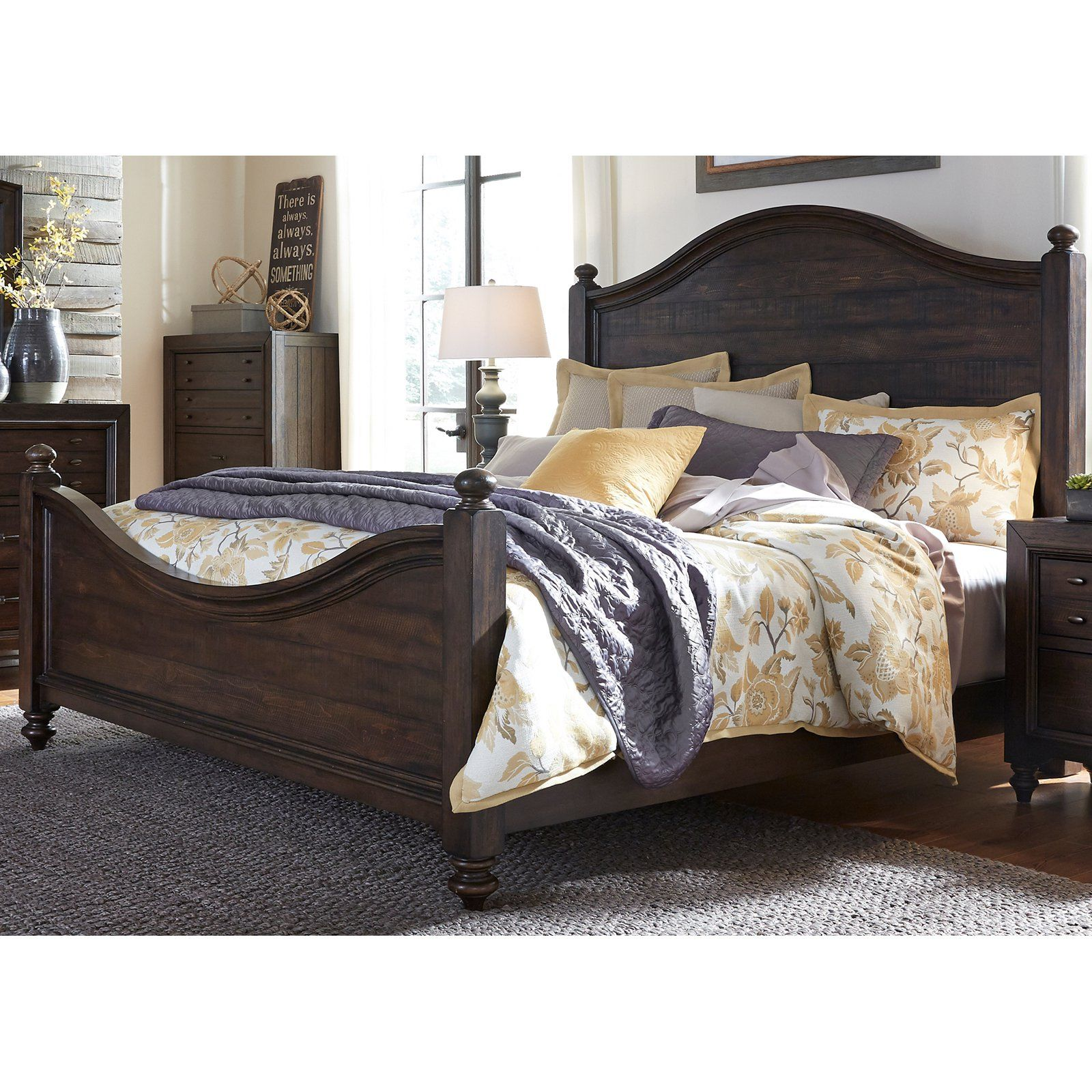 565967e8a8f38 Liberty Furniture Industries Catawba Hills Panel Bed in 2019 ...