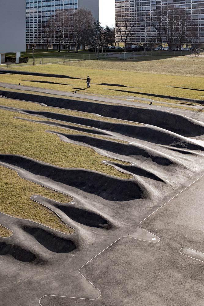 Gilles Brusset, Genf L'enfance du pli « Landscape Architecture Works | Landezine
