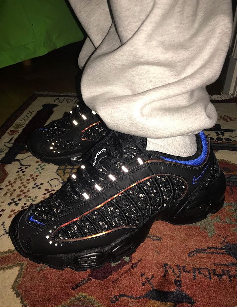 aa8640309abf First Look At The Supreme x Nike Air Max Tailwind 4 | Supreme in ...