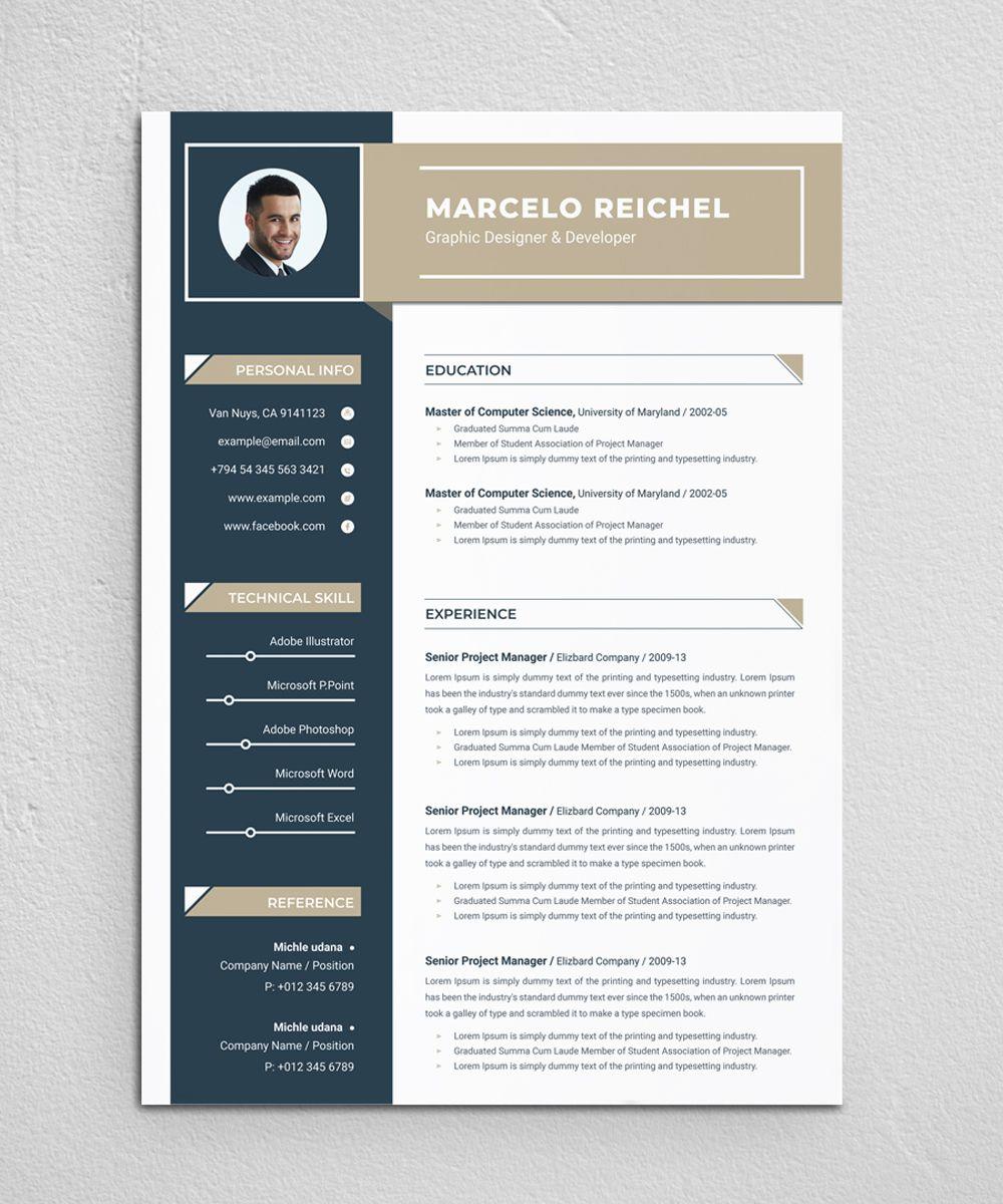 Marcelo Resume Template 83344 Resume Template Resume Clean Resume Template