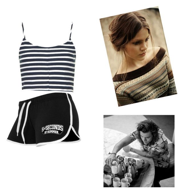 """with babe-Shannon"" by ashtons-irwin ❤ liked on Polyvore featuring moda i Topshop"