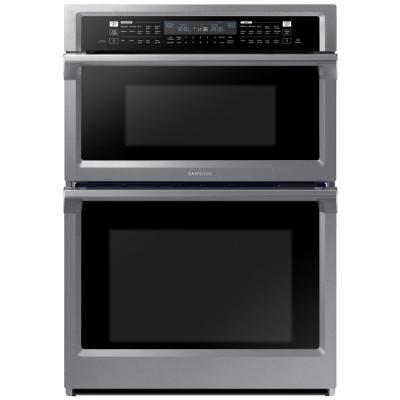 Samsung 30 In Electric Steam Cook Wall Oven With Speed
