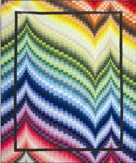 Freckles Frenzy Quilt Pattern by Patti Carey at KayeWood.com. Create a spectacular waterfall of color using a rainbow of textures such as Northcotts Freckles fabric line. http://www.kayewood.com/Freckles-Frenzy-Quilt-Pattern-by-Patti-Carey-PC-FRFR.htm $10.00