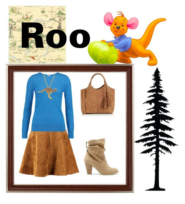 """Roo"" by adisneygirlme ❤ liked on Polyvore featuring Dot & Bo, Iris & Ink, Sole Society, Oasis, Animal Planet, disneybound, disneyfashion, waltdisneyworld and DisneyLandParis"
