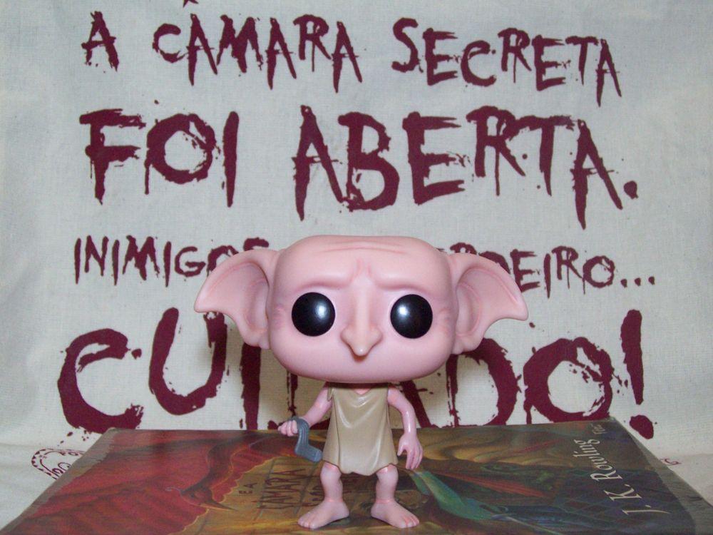 Harry Potter e a Câmara Secreta  Harry Potter and the Chamber of Secrets  Funko Pop! Dobby