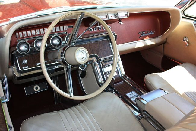 Car Of The Week 1965 Ford Thunderbird Old Cars Weekly Ford Thunderbird Thunderbird Luxury Car Interior
