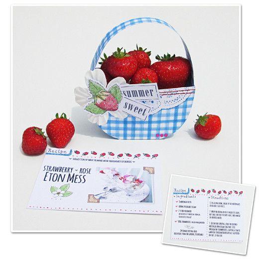 Summer Sweet Berries Berries Sweet Craft Box