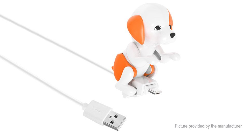 5 77 Teddy Dog Styled Micro Usb To Usb 2 0 Data Charging Cable