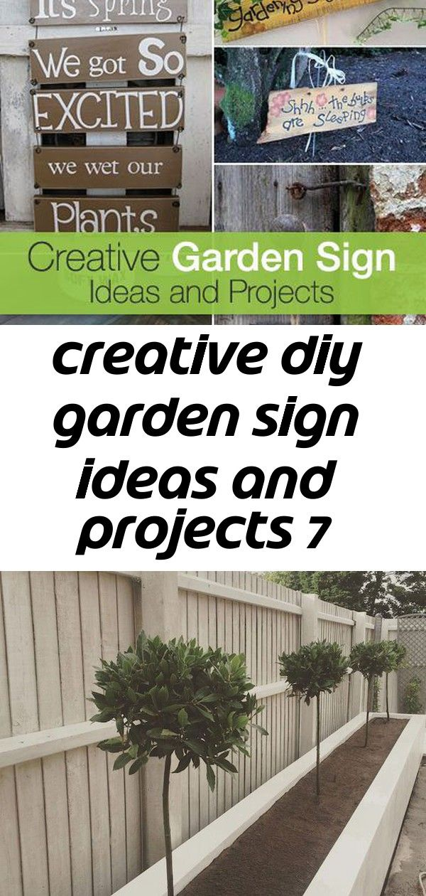 Creative diy garden sign ideas and projects 7 Creative Garden Sign Ideas and Projects  Lots of great Ideas and Tutorials 78 IDEAS OF MODERN GARDEN FENCE DESIGNS FOR SUMME...
